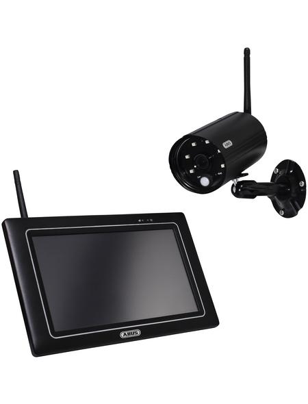 """ABUS OneLook Videoüberwachungsset, Full HD 1080p Außenkamera und 7"""" Monitor"""