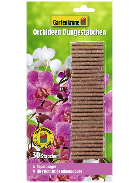 GARTENKRONE Orchideen Düngestäbchen 30 Stück