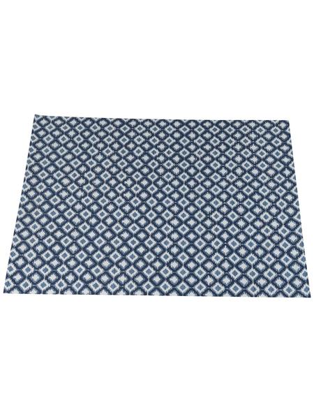 GARDEN IMPRESSIONS Outdoor-Teppich »Eclips«, BxL: 170 x 120 cm, bluejeans/hellblau/dunkelblau