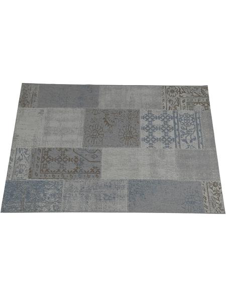 GARDEN IMPRESSIONS Outdoor-Teppich »Teppich«, BxL: 170 x 120 cm, grau/blau