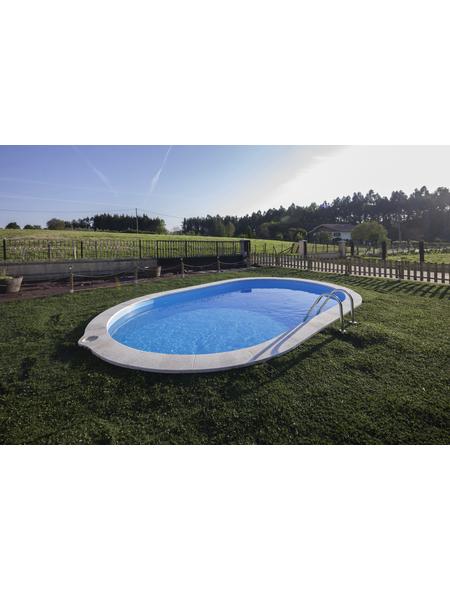 GRE Ovalpool, oval, BxHxL: 320 x 120 x 600 cm