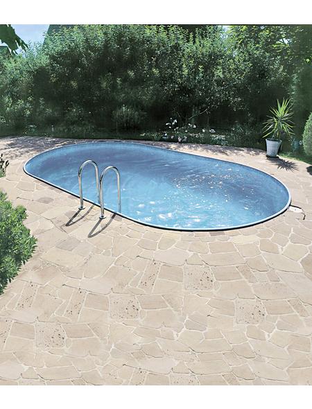 SUMMER FUN Ovalpool-Set,  oval, B x L x H: 300 x 490 x 120 cm