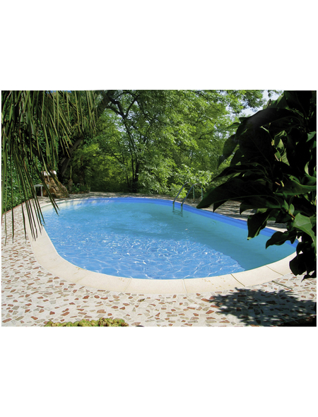 SUMMER FUN Ovalpool-Set,  oval, B x L x H: 360 x 737 x 150 cm