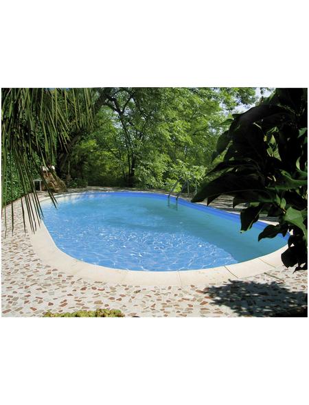 SUMMER FUN Ovalpool-Set Ovalformbeckenset , oval, BxLxH: 360 x 737 x 120 cm