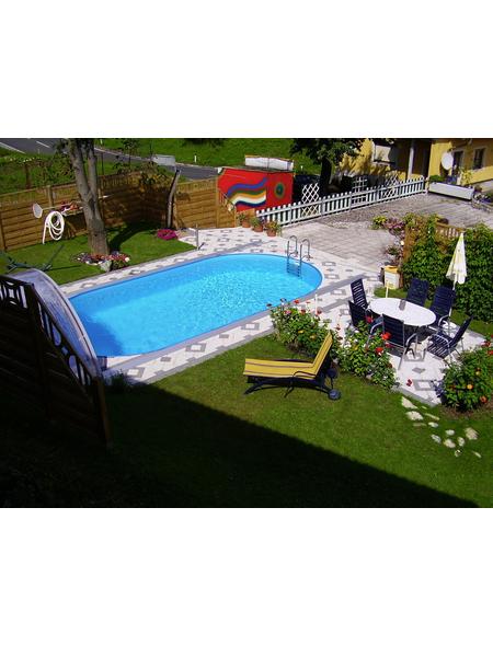 STEINBACH Ovalpool »Styria«, oval, BxHxL: 400 x 150 x 800 cm