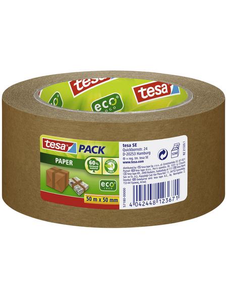 TESA Packband, braun, Breite: 5 cm, Länge: 50 m