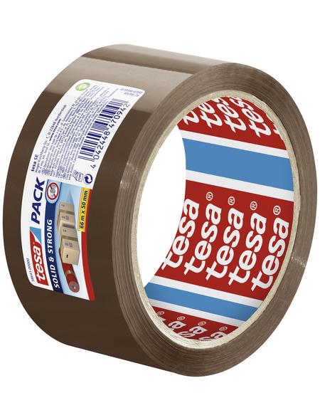 TESA Packband, braun, Breite: 5 cm, Länge: 66 m