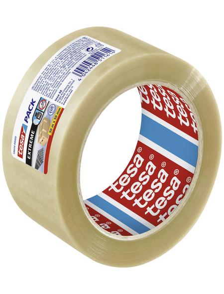 TESA Packband, transparent, Breite: 5 cm, Länge: 50 m