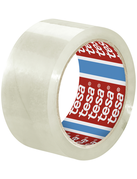 TESA Packband, transparent, Breite: 5 cm, Länge: 66 m