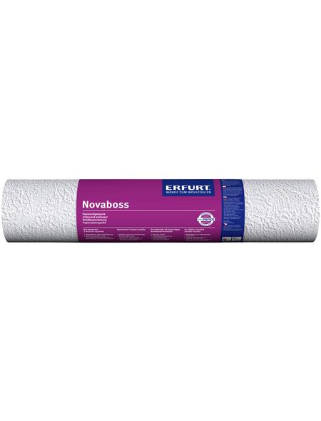 ERFURT Papiertapete »Novaboss 134«, weiß, strukturiert