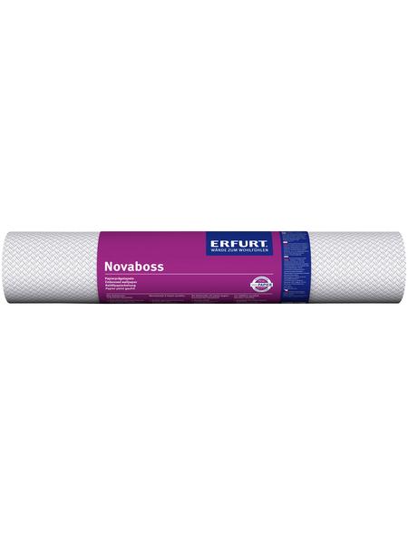 ERFURT Papiertapete »Novaboss 262«, weiß, strukturiert