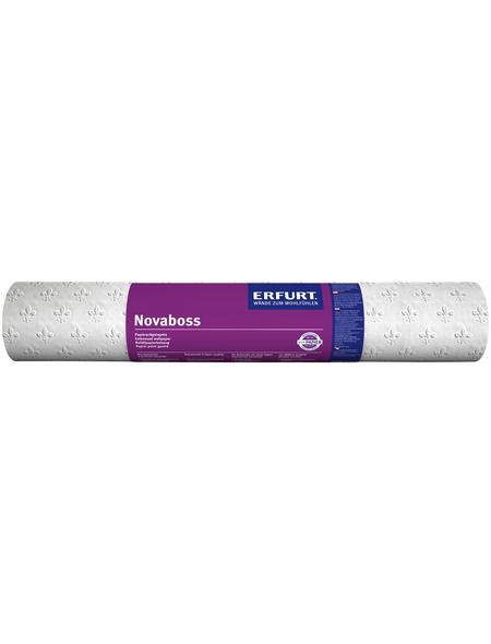 ERFURT Papiertapete »Novaboss 392«, weiß, strukturiert