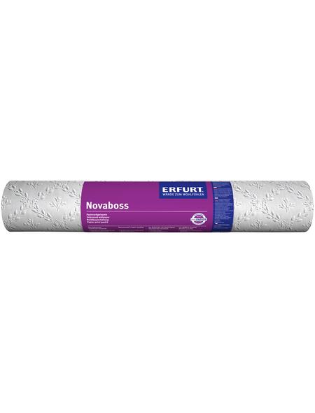 ERFURT Papiertapete »Novaboss 393«, weiß, strukturiert