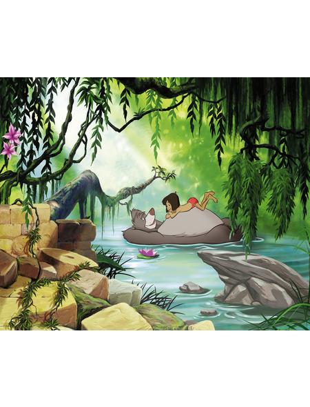 KOMAR Papiertapete »Swimming with Baloo«, Breite: 368 cm, inkl. Kleister