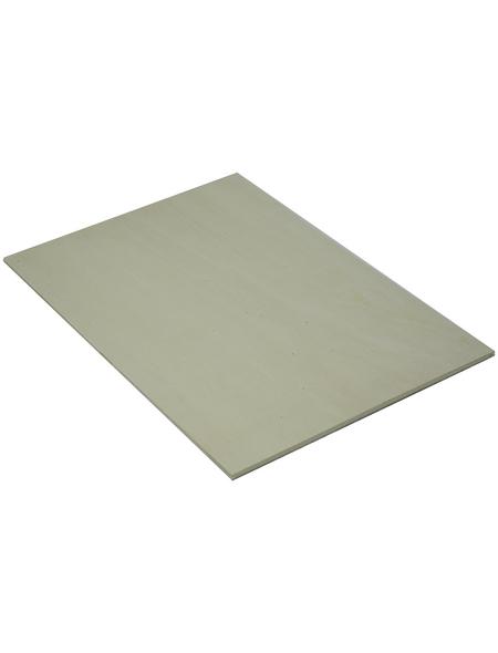 Pappel Sperrholzplatte, 2440x1220x4 mm, Natur