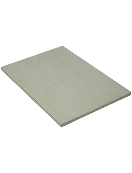 Pappel Sperrholzplatte, 2440x1220x8 mm, Natur