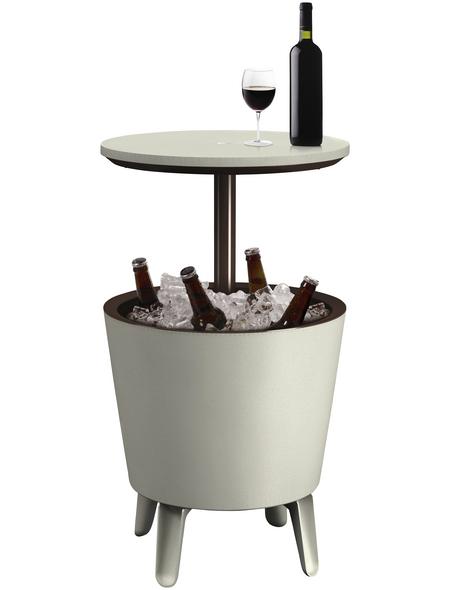 TEPRO Partytisch mit Polypropylen-Tischplatte, BxTxH: 50 x 50,5 x 57 cm