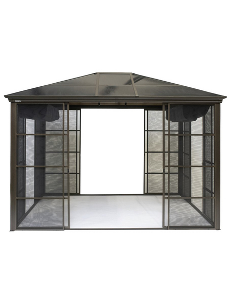 SOJAG Pavillon »Castel«, rechteckig, BxHxT: 362 x 283 x 298 cm