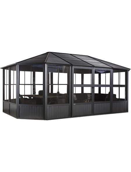 SOJAG Pavillon »Charleston«, Ovaldach, oval, BxHxT: 594 x 281 x 384 cm