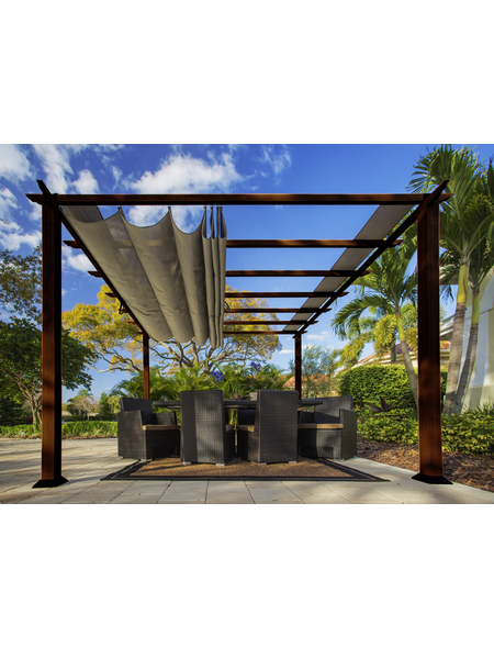 PARAGON OUTDOOR Pavillon »Florida«, quadratisch, B x T: 350 x 350 cm