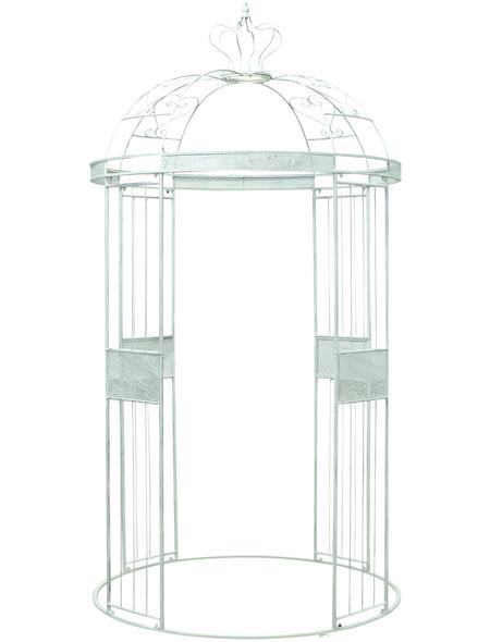 BOLTZE Pavillon »Lilli«, Eisen, hellgrau