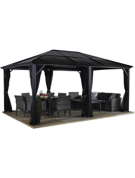 SOJAG Pavillon »Meridien«, rechteckig, BxHxT: 485 x 270 x 365 cm