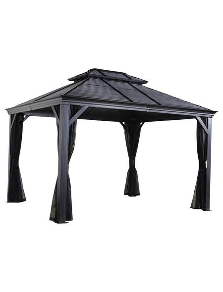 SOJAG Pavillon »Mykonos«, rechteckig, B x T: 425 x 299 cm