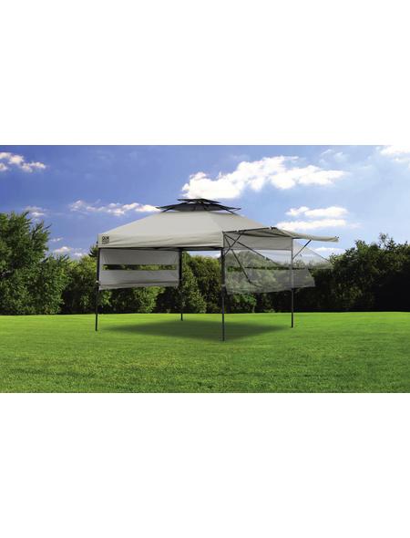 SHELTERLOGIC Pavillon »Quik Shade«, Spitzdach, quadratisch, BxT: 305 x 305 cm, inkl. Dacheindeckung
