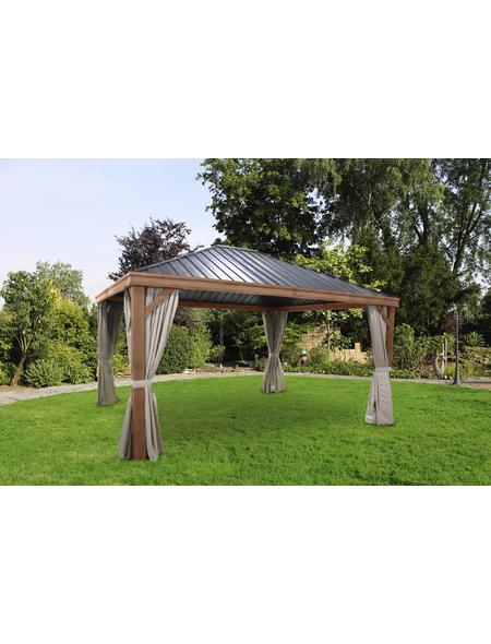 Pavillon, rechteckig, BxT: 425 x 365 cm