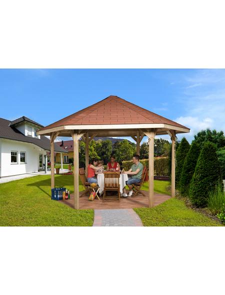 WEKA Pavillon-Set, B x T: 399 x 461 cm