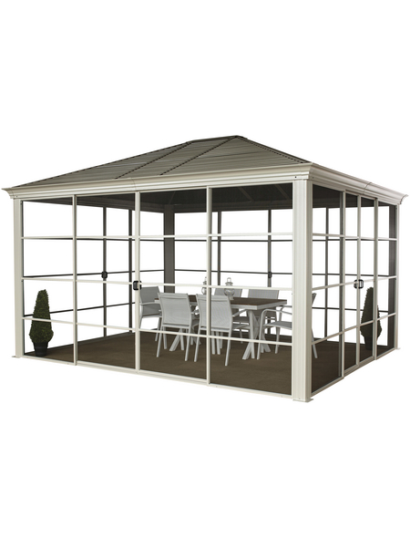 SOJAG Pavillon »Striano«, B x T: 362 x 298 cm
