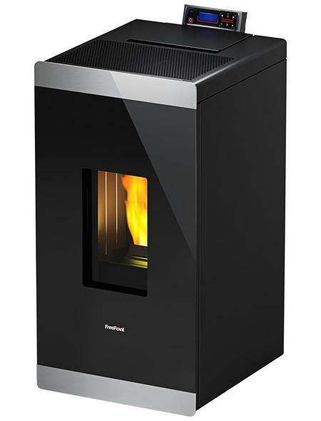 FREEPOINT Pelletofen »Glass«, 8,6 kw, WiFi-fähig, BxHxT: 49,2 x 96,2 x 54,6 cm
