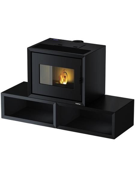 FREEPOINT Pelletofen »Modo«, 9,36 kw, WiFi-fähig, BxHxT: 140 x 86,5 x 58 cm