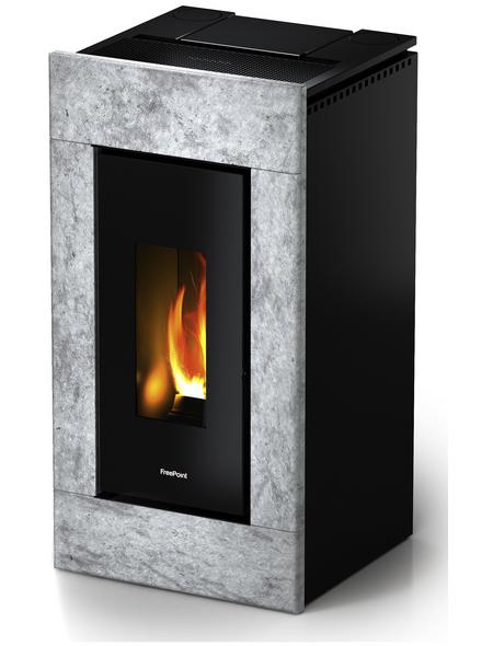 FREEPOINT Pelletofen »Vega«, 10,5 kw, WiFi-fähig, BxHxT: 54 x 105 x 54 cm