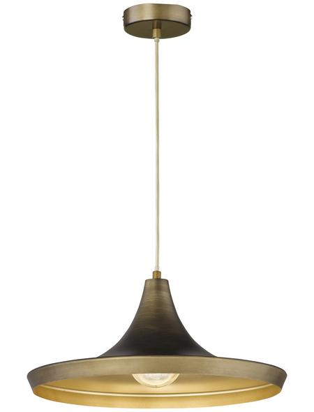 wofi® Pendelleuchte »Erin« braun 60 W, 1-flammig, E27, ohne Leuchtmittel