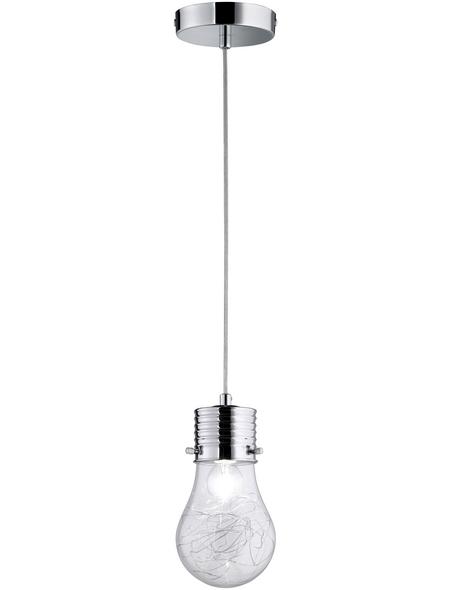 wofi® Pendelleuchte »FUTURA« chromfarben 40 W, 1-flammig, E14, ohne Leuchtmittel
