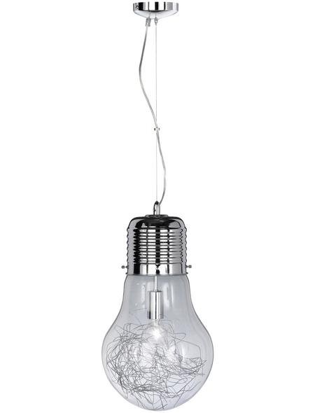 wofi® Pendelleuchte »Futura« chromfarben 60 W, 1-flammig, E27, ohne Leuchtmittel