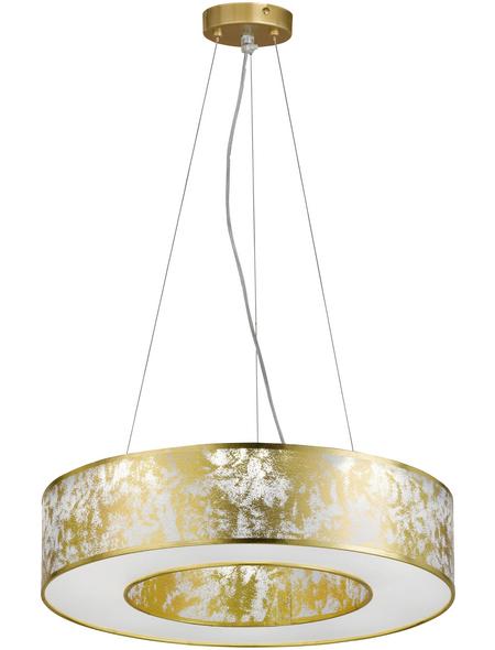 wofi® Pendelleuchte goldfarben 21 W, 1-flammig, inkl. Leuchtmittel in warmweiß