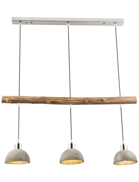 GLOBO LIGHTING Pendelleuchte »JEBEL«, Holz/Metall