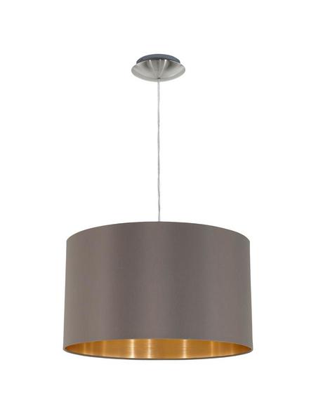 EGLO Pendelleuchte »MASERLO« cappuccinofarben/goldfarben 60 W, E27, ohne Leuchtmittel