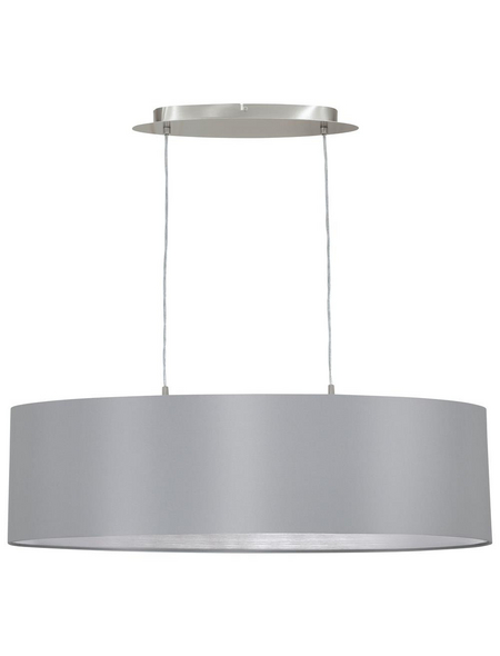 EGLO Pendelleuchte »MASERLO« grau/silberfarben, 60 W, E27, ohne Leuchtmittel