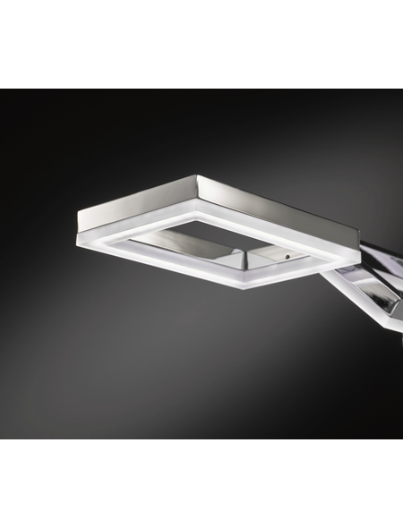 wofi® Pendelleuchte nickelfarben 25 W, 5-flammig, dimmbar, inkl. Leuchtmittel in warmweiß