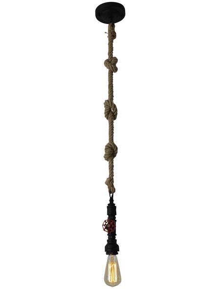 NÄVE Pendelleuchte »Regia« schwarz 40 W, 1-flammig, E27, ohne Leuchtmittel