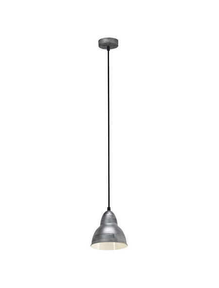 EGLO Pendelleuchte »TRURO« silberfarben, 60 W, E27, ohne Leuchtmittel
