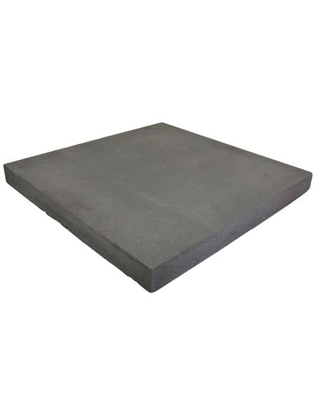 EHL Pfeilerabdeckplatte, BxHxL: 40 x 40 x 4 cm, glatt, Beton