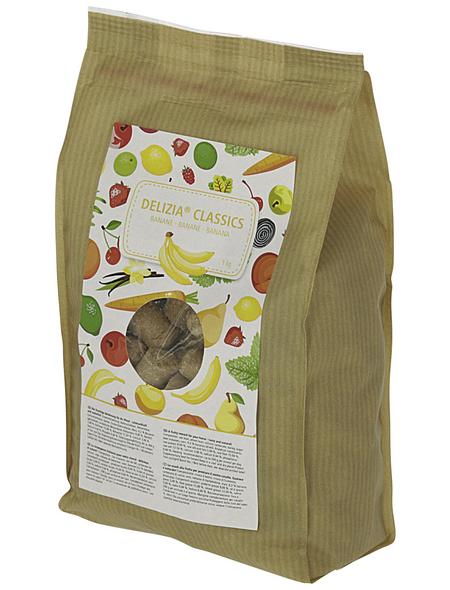 KERBL Pferde-Belohnungswürfel »Delizia«, 1 kg, Banane