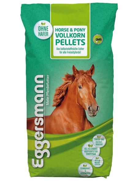 EGGERSMANN Pferdefutter »HORSE &  PONY VOLLKORN PELLETS«, Getreide