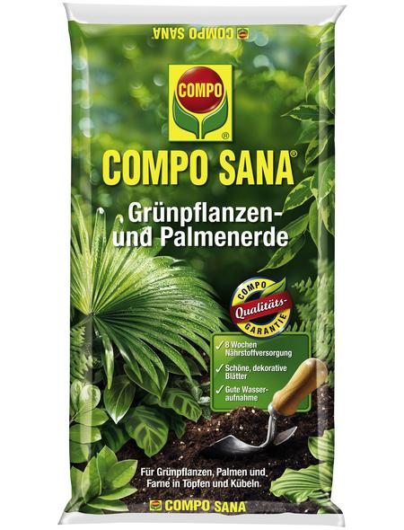 COMPO Pflanzenerde, 10 l, geeignet für: Grünpflanzen und Palmen