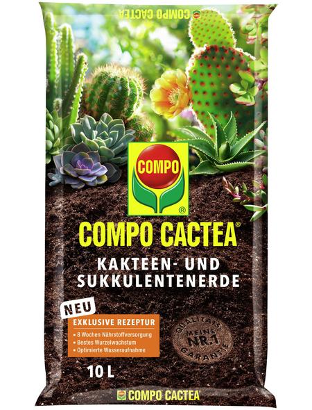 COMPO Pflanzenerde, 10 l, geeignet für: Kakteen und Sukkulenten