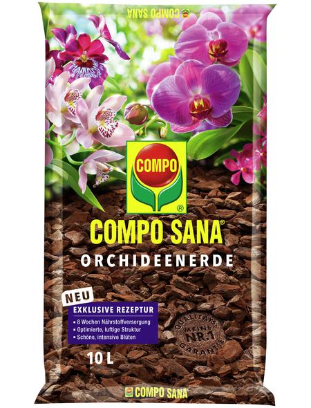 COMPO Pflanzenerde, 10 l, geeignet für: Orchideen